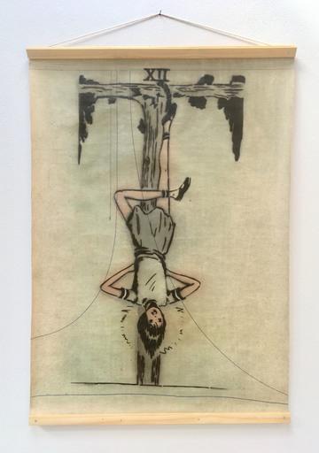 Marie AMANDA - Peinture - The hanged man