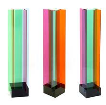 Carlos CRUZ-DIEZ - Sculpture-Volume - Transchromies a 4 elements b