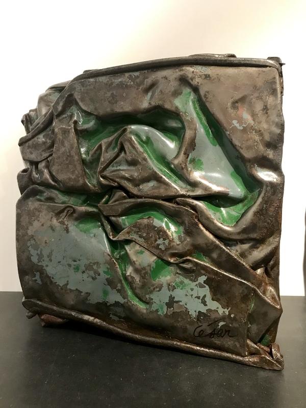 凯撒·巴达奇尼 - 雕塑 - Compression
