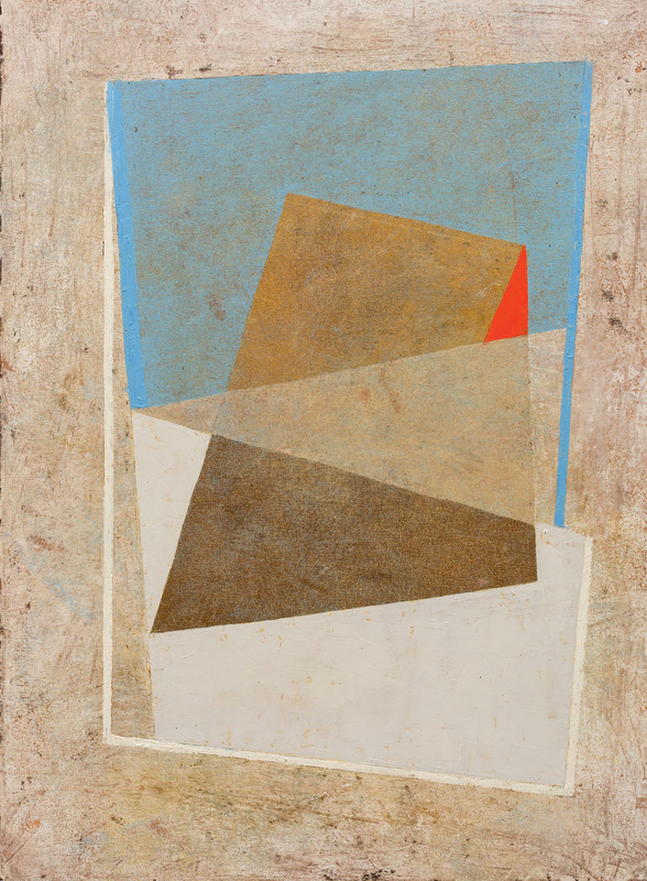 Jeremy ANNEAR - Painting - Mertrospace IV