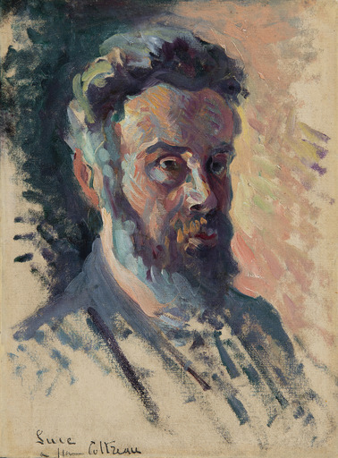Maximilien LUCE - Pintura - Autoportrait