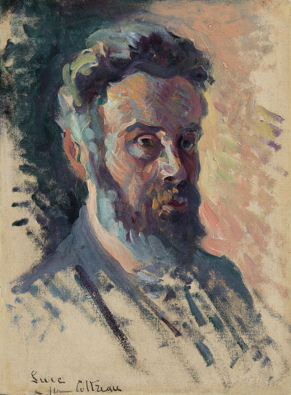 Maximilien LUCE - Peinture - Autoportrait