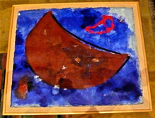 Rodriguez Duflos ADELA - Peinture - Luna II