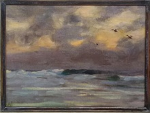 August JACOBSEN - Painting - EPTER STORM