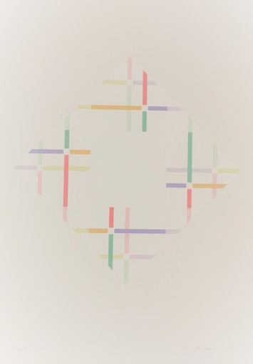 Shizuko YOSHIKAWA - Print-Multiple - zwei energien A