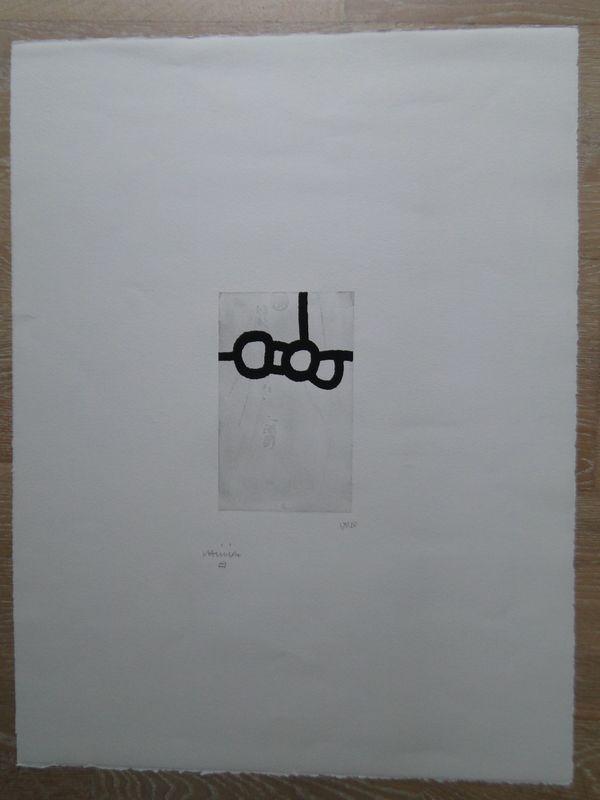 Eduardo CHILLIDA - Print-Multiple - Bikaina VIII