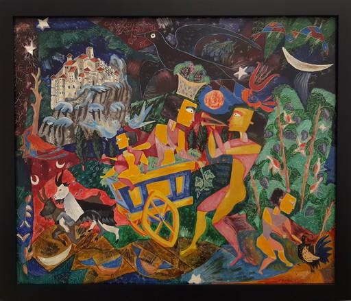 Basil Ivan RAKOCZI - Peinture - Les vendanges