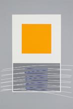 Jesús Rafael SOTO - Grabado - orange et virtuel bleu