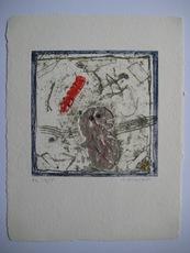 James COIGNARD - Estampe-Multiple - GRAVURE 1976 SIGNÉE AU CRAYON NUM HC /15 HANDSIGNED ETCHING