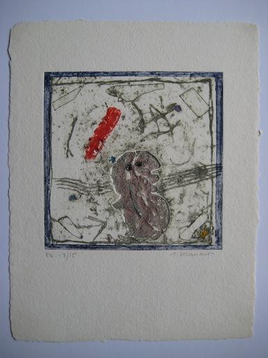 James COIGNARD - Grabado - GRAVURE 1976 SIGNÉE AU CRAYON NUM HC /15 HANDSIGNED ETCHING