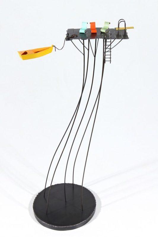 Frédéric LAVAUD - Sculpture-Volume - A l'eau