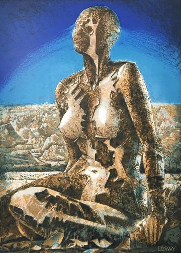 Pierre Franc LAMY - Estampe-Multiple - La Terre Est Un Savoir