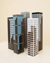 Julian OPIE - Sculpture-Volume - modern towers