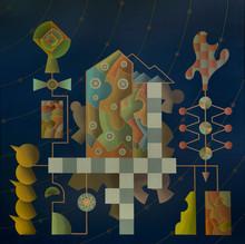 Enrique Rodriguez GUZPENA - Painting - Terminal 20