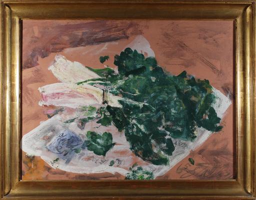 Guido TALLONE - Pintura - Le coste di Alpignano op. Le coste rosa.