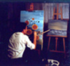 Ivan LACKOVIC - Painting - Sonnenblumen