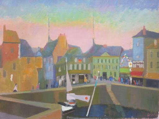 Odette DERAY - Pintura - Honfleur