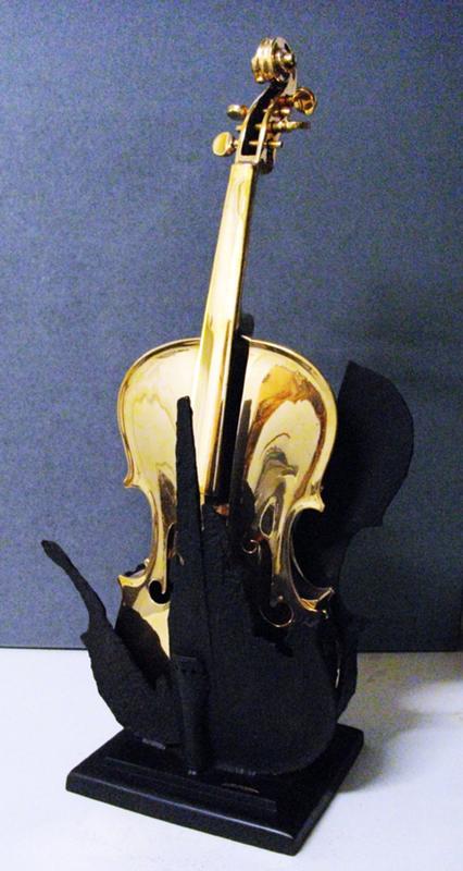 Fernandez ARMAN - Sculpture-Volume - Le Fenice No. 2 (Phoenix)