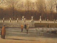 Harold ALTMAN - Grabado - Paris:Au Luxembourg,1988.