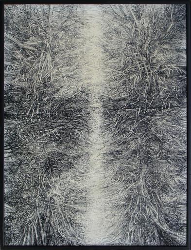 Louis PONS - Disegno Acquarello - Composition 1966