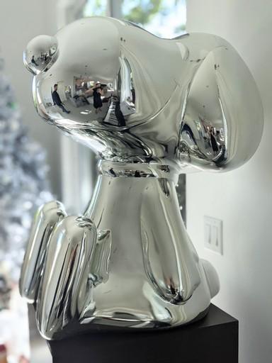 MR BRAINWASH - Escultura - Silver Beagle