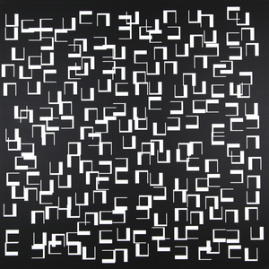 Véra MOLNAR - Pintura - Quatre moins un