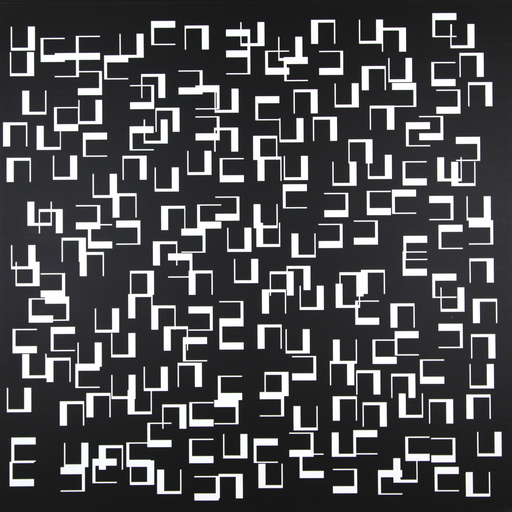 Véra MOLNAR - Peinture - Quatre moins un