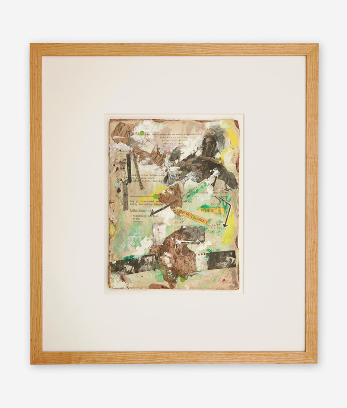 Carolee SCHNEEMANN - Painting - Where Is The Full Shock