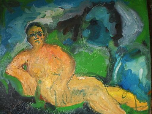 Bernard MOREL - Peinture - FEMME