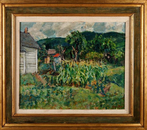 Zygmunt MENKES - Gemälde - In the Garden