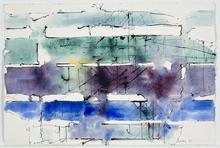 Paul KALLOS - Drawing-Watercolor - Sans titre (PK05)