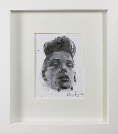 Philippe PASQUA - Disegno Acquarello - Constance portrait 2010