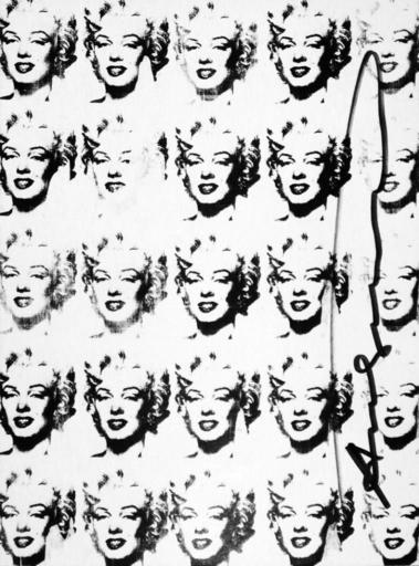 """Andy WARHOL - Stampa-Multiplo - 25 Marilyns"""" ( Black & white)"""