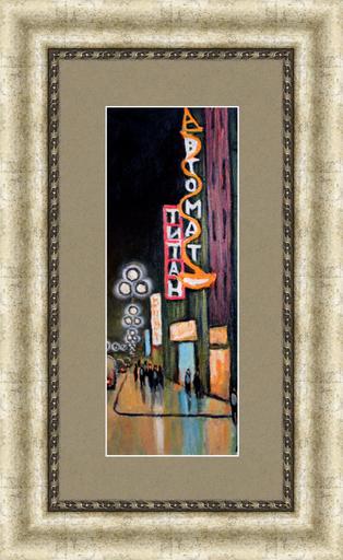 Valeriy NESTEROV - Gemälde - St.Petersburg (Leningrad) Titan cinema