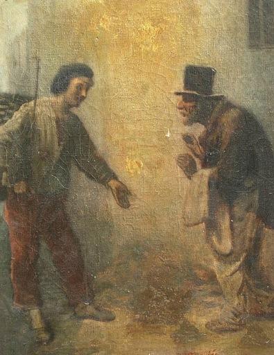 Charles Joseph TRAVIÉS DE VILLIERS - Gemälde