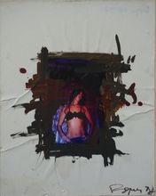 Philippe PASQUA - Peinture - Naked at the window