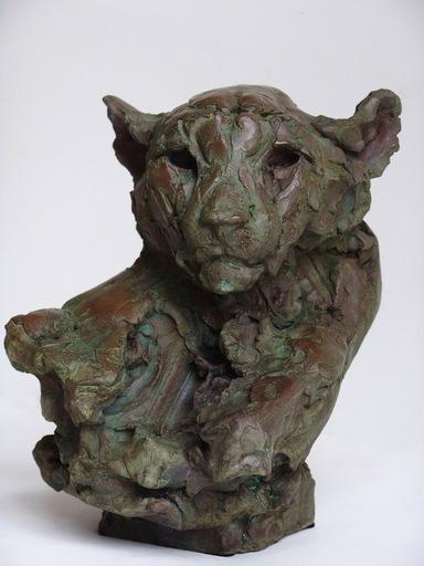 Patrick VILLAS - Scultura Volume - Tête de guépard III