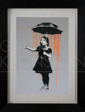 BANKSY - Estampe-Multiple - Nola, Dark Orange to Orange Rain, AP signed