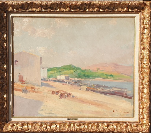 Eliseo MEIFRÉN ROIG - Painting - Puerto pesquero
