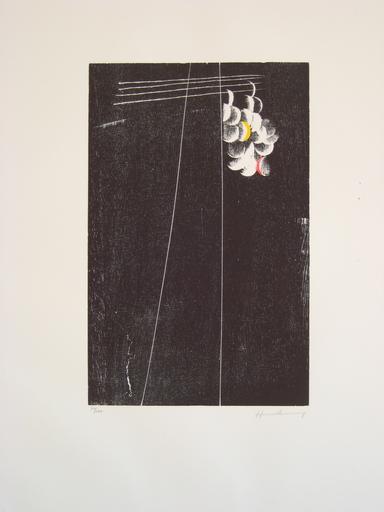Hans HARTUNG - Estampe-Multiple - LITHOGRAPHIE SIGNÉE CRAYON NUM/100 HANDSIGNED LITHOG