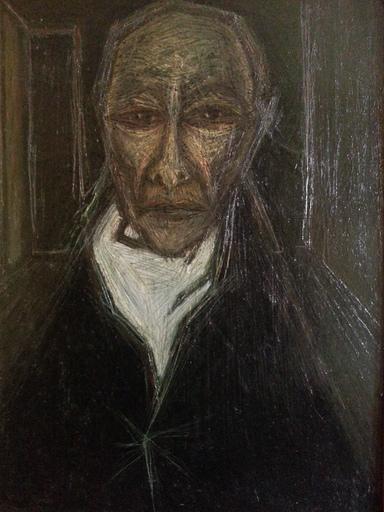Jacques WINSBERG - Pintura - Portrait d'André Gide