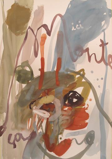 Sandra DETOURBET - Painting - Ça Monte