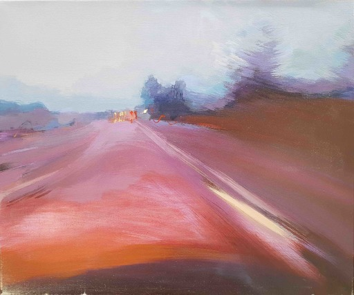 Ewa MAZUR-DEVAUX - Peinture - Lanscape 10