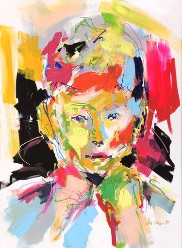 Nicole LEIDENFROST - Gemälde - Ich brauche mal pink!