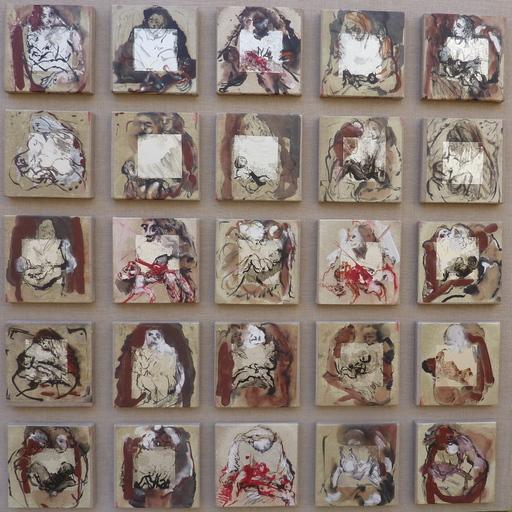 Alain GESTIN - Peinture - Né sous les bombes