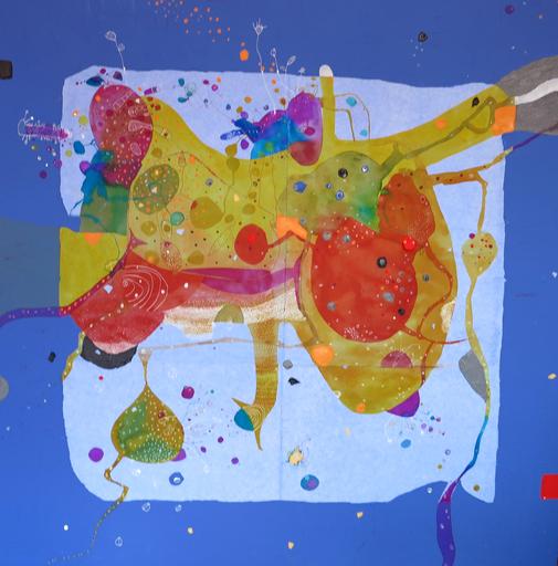 Bedos BONATERRA - Painting - Máquina de la felicidad