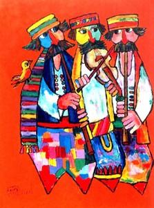 Jovan OBICAN, *Orange Trio