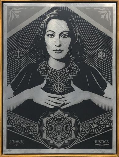 谢帕德·费瑞 - 版画 -  Peace & Justice Woman