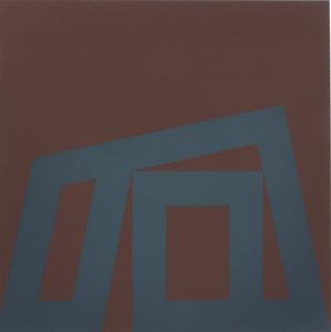 Ode BERTRAND - Print-Multiple - Fond brun et gris
