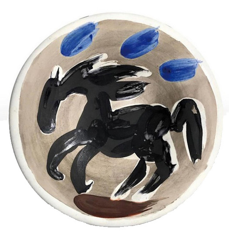 Pablo PICASSO - Céramique - Petit cheval